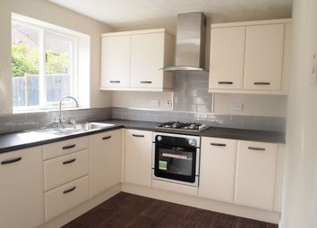 Thumbnail 3 bed town house to rent in Marriott Drive, Kibworth Harcourt, Leicestershire