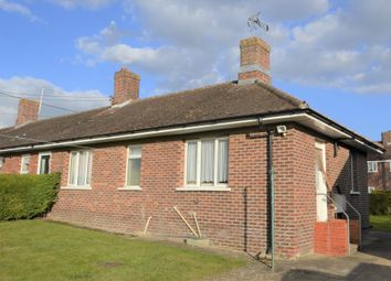 Thumbnail 2 bedroom semi-detached bungalow to rent in Mill Lane, Hundon, Sudbury