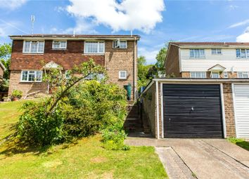Thumbnail 3 bedroom semi-detached house for sale in Meadowdown Close, Hempstead, Gillingham, Kent