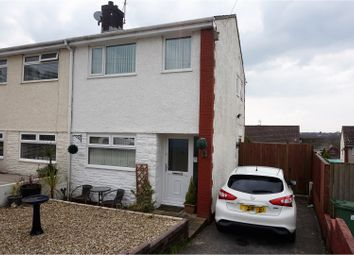 Thumbnail 2 bed semi-detached house for sale in Cwrt Y Goedwig, Pontypridd