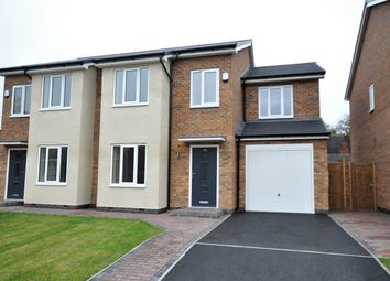 Thumbnail 4 bed semi-detached house for sale in Old Road, Branston, Burton-On-Trent