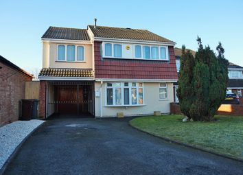 Thumbnail 4 bed detached house for sale in Peach Road, Willenhall