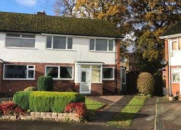 Thumbnail 2 bed maisonette to rent in Marlbrook Close, Solihull