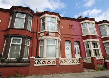 Thumbnail 3 bedroom terraced house for sale in Croxteth Avenue, Liverpool