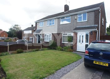 Thumbnail 3 bed semi-detached house to rent in Somerset Way, Woolston, Warrington