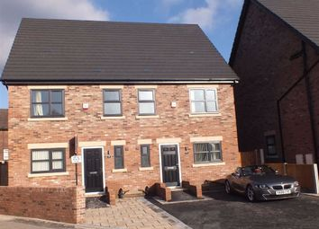 Thumbnail 4 bed semi-detached house for sale in St. Marys Road, Hyde