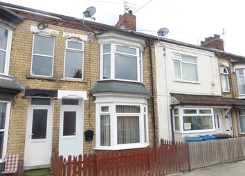 Thumbnail 3 bed terraced house for sale in Brecon Street, Hull