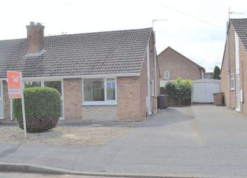 Thumbnail 2 bedroom semi-detached bungalow to rent in Woodlands Crescent, Overseal, Swadlincote