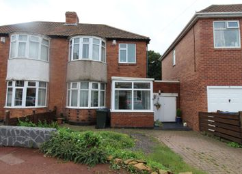 Thumbnail 2 bed semi-detached house for sale in Overdene, Newcastle Upon Tyne