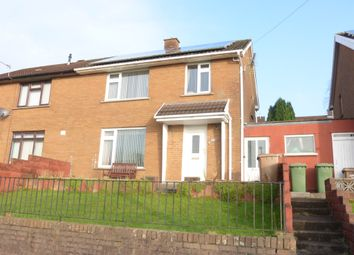 Thumbnail 3 bed semi-detached house for sale in Glan Ffrwd, Penyrheol, Caerphilly