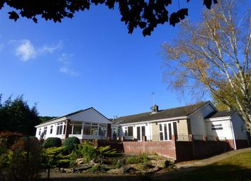 Thumbnail 5 bed detached bungalow for sale in Court House Road, Llanvair Discoed, Chepstow