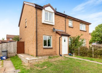 Thumbnail 2 bed semi-detached house for sale in Sanderling Close, Letchworth Garden City