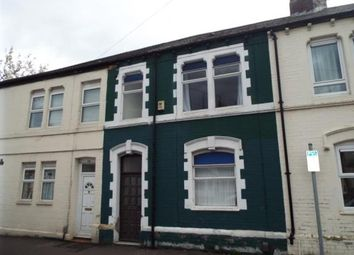 Thumbnail 3 bed terraced house for sale in Singleton Road, Cardiff, Caerdydd
