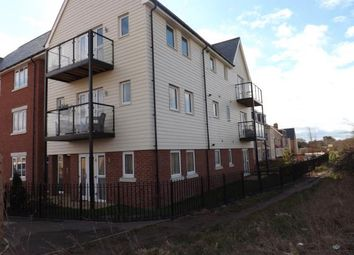 Thumbnail 2 bed flat for sale in Walker Mead, Biggleswade, Bedfordshire