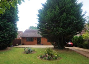 Thumbnail 3 bed detached bungalow for sale in Walnut Road, Wisbech