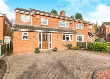 Thumbnail 4 bed semi-detached house for sale in Woodgate Way, Belbroughton, Stourbridge