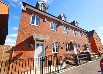 Thumbnail 3 bed town house for sale in Tall Pines Road, Witham St. Hughs, Lincoln