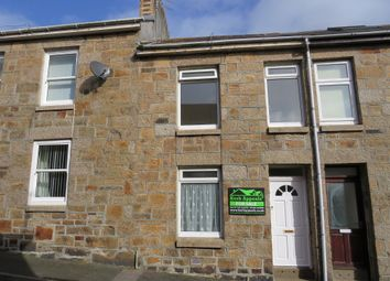 Thumbnail 2 bed terraced house for sale in St Francis Street, Penzance, Cornwall.