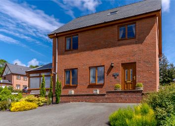 Thumbnail 3 bed detached house for sale in Maes Capel, Y Fan, Llanidloes, Powys