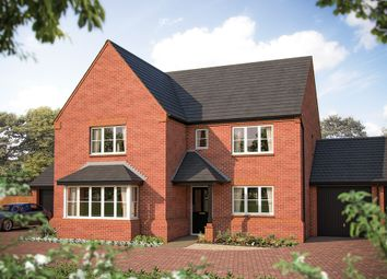"Thumbnail 5 bed detached house for sale in ""The Arundel"" at Larbourne Park Road, Flore, Northampton"
