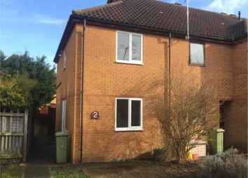 Thumbnail 2 bed end terrace house for sale in Washfields, Furzton, Milton Keynes