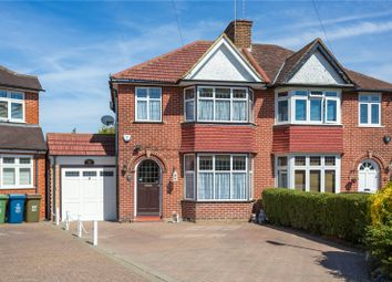 Thumbnail 3 bed semi-detached house for sale in Home Mead, Stanmore
