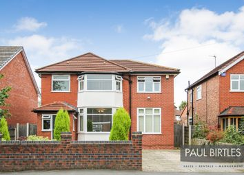 Thumbnail 4 bed detached house for sale in Cornhill Road, Urmston