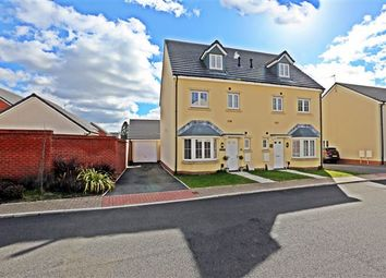 Thumbnail 4 bed town house for sale in Alexon Way, Hawthorn, Pontypridd
