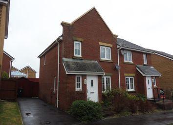 Thumbnail 3 bed semi-detached house for sale in Cyfarthfa Rise, Heolgerrig, Merthyr Tydfil