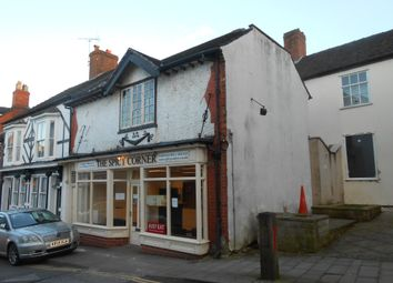 Thumbnail Retail premises for sale in 4 Stafford Street, Market Drayton, Shropshire