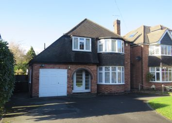 Thumbnail 3 bedroom detached house for sale in Greswolde Road, Solihull