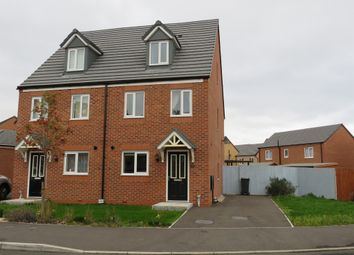 Thumbnail 3 bed semi-detached house for sale in Oak Drive, Penyffordd, Chester