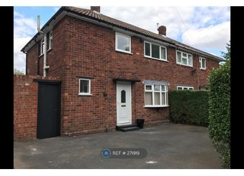 Thumbnail 3 bed semi-detached house to rent in Wallace Road, Wolverhampton