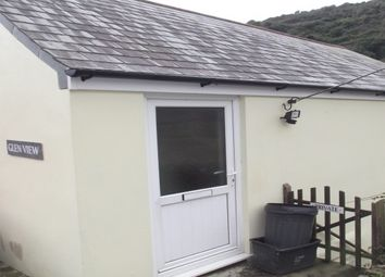 Thumbnail 1 bed bungalow to rent in Trebarwith Strand, Tintagel