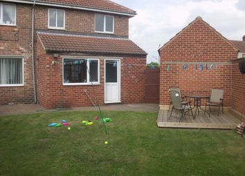 Thumbnail 3 bed semi-detached house to rent in Essex Road, Bircotes, Doncaster DN118BT