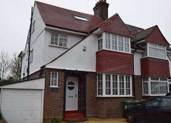 Thumbnail 5 bedroom semi-detached house for sale in The Meadow Way, Harrow Weald