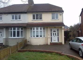 Thumbnail 3 bed semi-detached house to rent in Aldersley Road, Wolverhampton