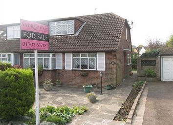 Thumbnail 3 bed semi-detached bungalow for sale in Sunnybank Road, Potters Bar