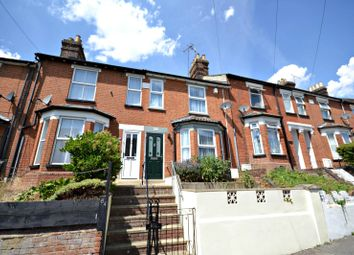 Thumbnail 3 bedroom terraced house to rent in Rectory Road, Ipswich
