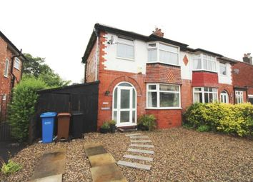 Thumbnail 3 bed semi-detached house for sale in Fairfield Avenue, Cheadle Hulme, Cheadle, Greater Manchester