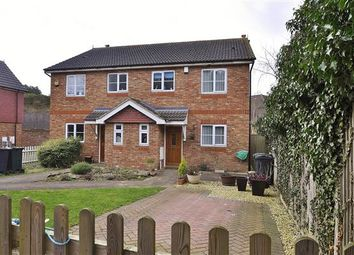 Thumbnail 3 bed semi-detached house for sale in Winslade Terrace, Silver Hill Road, Willesborough, Ashford