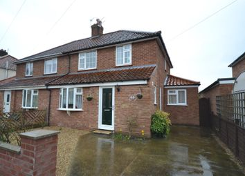 Thumbnail 3 bed semi-detached house for sale in Massingham Road, Norwich