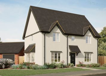 Thumbnail 4 bedroom detached house for sale in Poppy Way, Gislingham