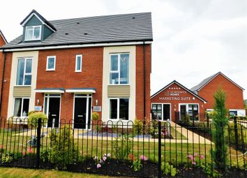 Thumbnail 3 bed semi-detached house for sale in Castle Street, Stafford