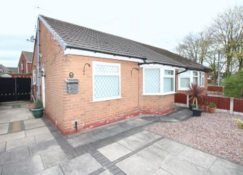 Thumbnail 2 bed bungalow for sale in School Lane, Irlam, Manchester