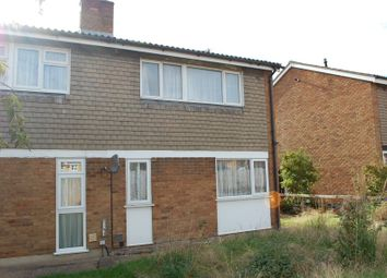 Thumbnail 3 bed semi-detached house for sale in 72 Glebe Road, Sandy, Bedfordshire