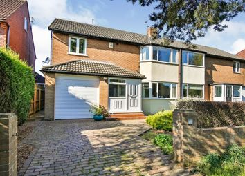 Thumbnail 4 bed semi-detached house for sale in Park Road Central, Chester Le Street
