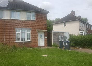 Thumbnail 2 bed semi-detached house for sale in Flaxton Grove, Kitts Green, Birmingham