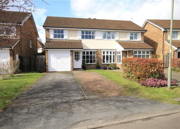 Thumbnail 3 bed semi-detached house for sale in Tyler Gardens, Addlestone, Surrey