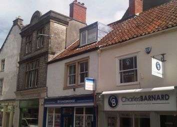 Thumbnail 1 bed flat to rent in High Street, Shepton Mallet